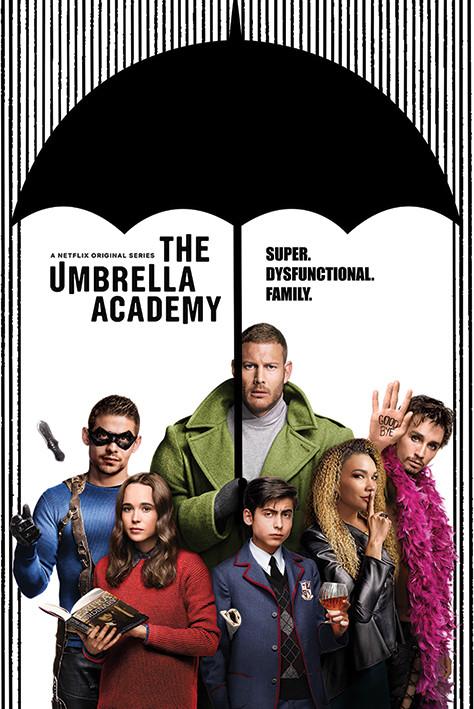 Plakát  The Umbrella Academy - Super Dysfunctional Family