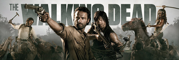 Plakát  THE WALKING DEAD - Banner