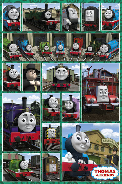 Plakát THOMAS AND FRIENDS – compilation