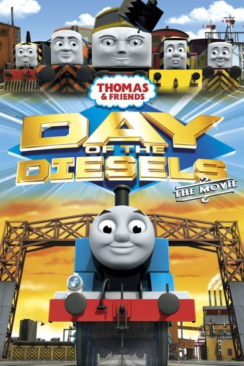 Plakat THOMAS AND FRIENDS - day