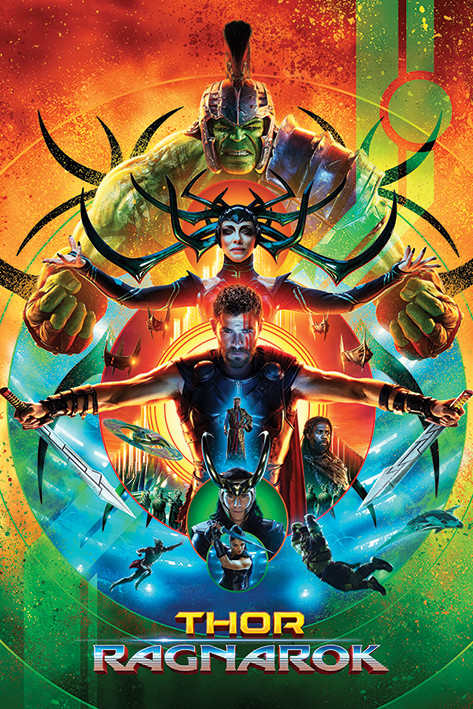 Plakát  Thor Ragnarok - One Sheet