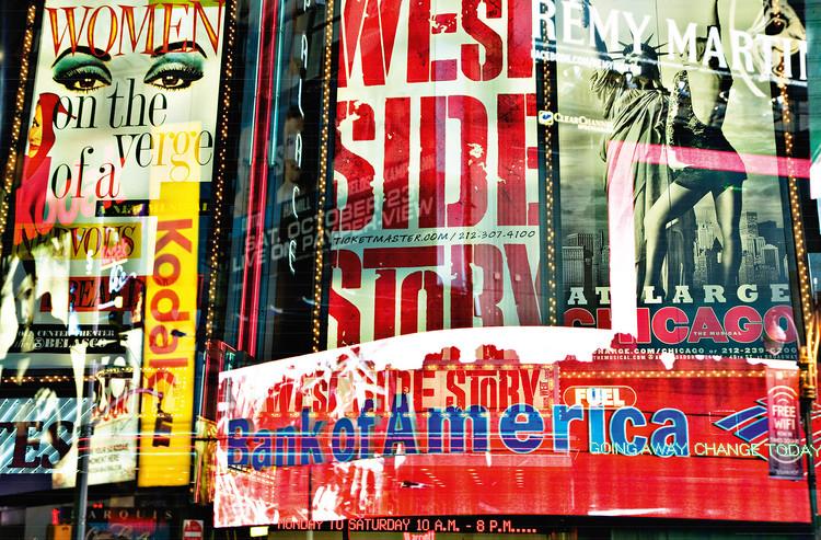 Plakát TIMES SQUARE NEON STORIES