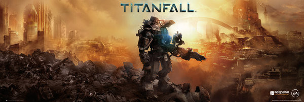 Plakat Titanfall - cover