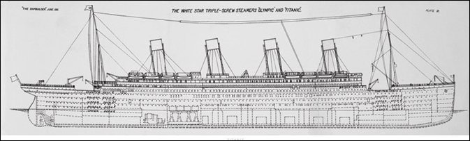 Reprodukcja Titanic - Plans B
