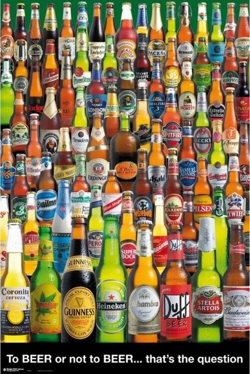 Plakat To Beer or not To Beer