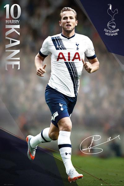 Plakát Tottenham Hotspur FC - Kane 15/16
