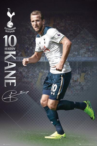 Plakat Tottenham - Kane 16/17