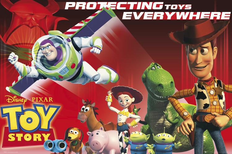 Plakát TOY STORY - protect
