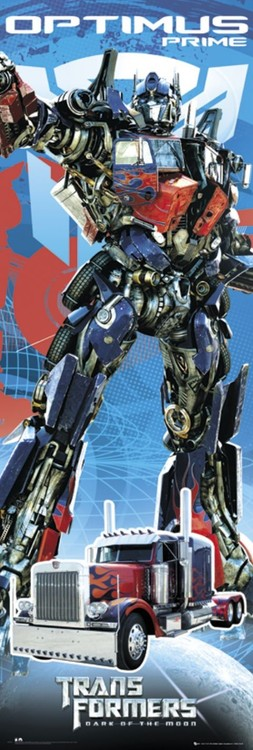 Plakat TRANSFORMERS 3 - optimus