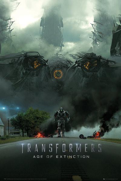Plakat Transformers 4: Wiek zaglady - Imax Teaser