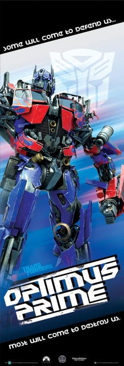 Plakat TRANSFORMERS - optimus