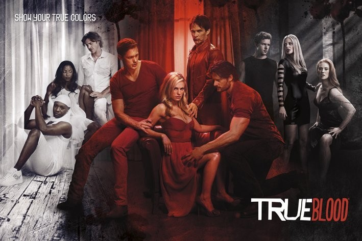 Plakát TRUE BLOOD - show your true co