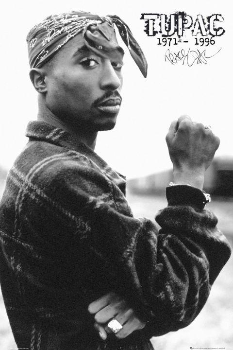 Plakát Tupac - fist