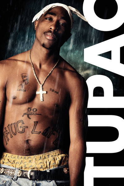 Plakát  Tupac - Rain