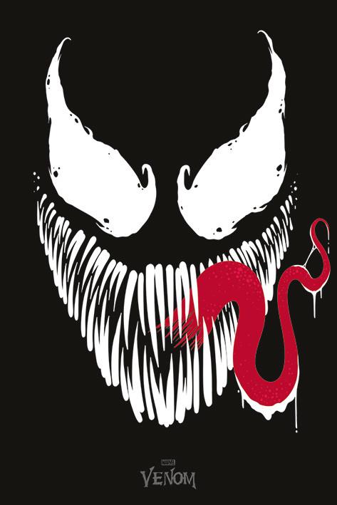 Plakát  Venom - Face