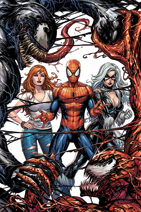 Plakát Venom - Venom and Carnage fight