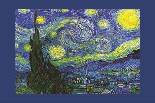 Plakat Obraz Vincent Van Gogh Nuit Etoilée Saint Rémy Kup Na Posterspl