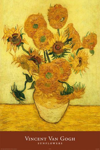 Plakat Obraz Vincent Van Gogh Sunflowers Kup Na Posterspl