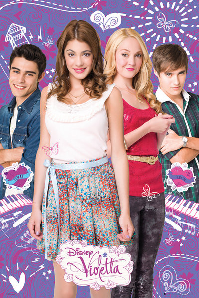 Plakat VIOLETTA - Group