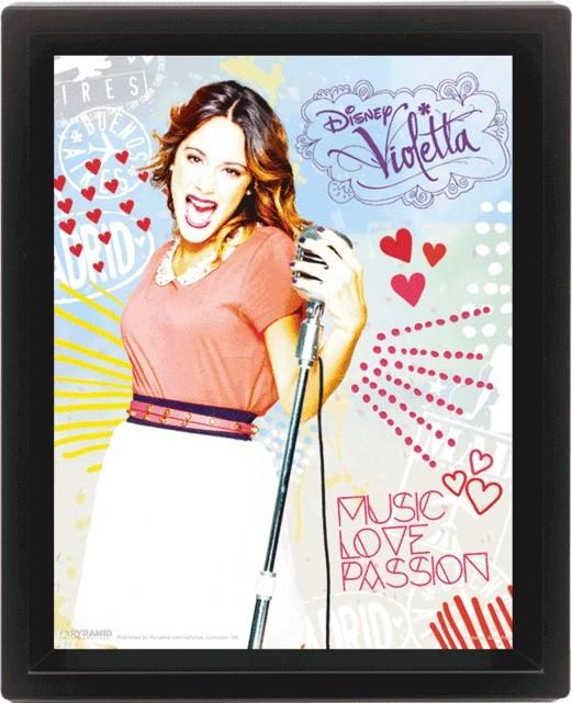 Plakat  Violetta - Passion