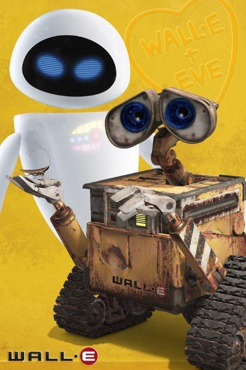 Plakát WALL-E - a eva