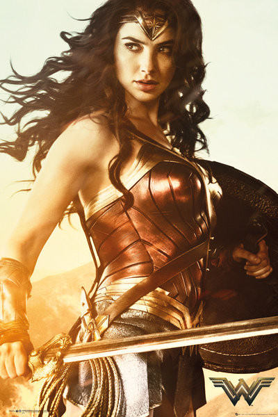 Plakát  Wonder Woman - Sword
