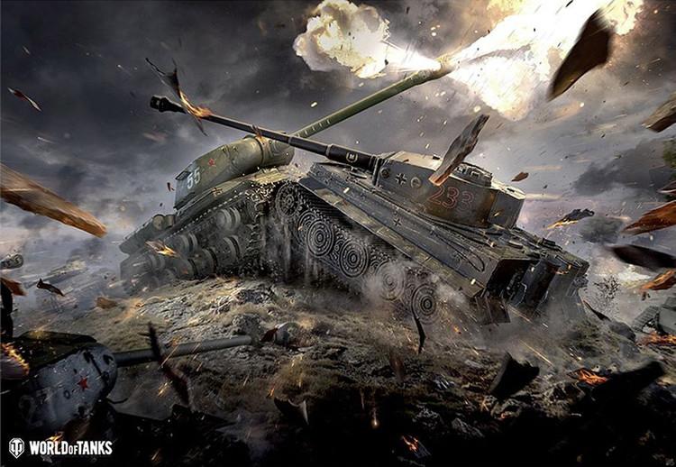 World of Tanks - Tanks - Plakát, Obraz na zeď | Posters cz