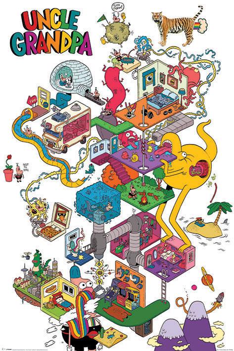 Plakat Obraz Wujcio Dobra Rada A Warped Mind Kup Na Posters Pl