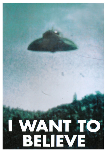 Plakat  X-FILES - i want to believe