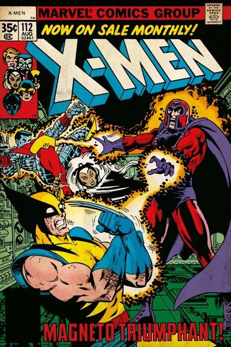 Plakát X-Men - Magneto Triumphant