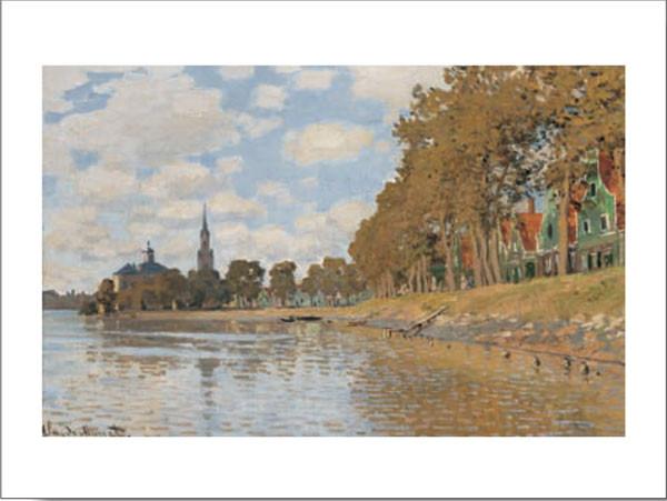 Reprodukcja Zaandam, Holland, 1871