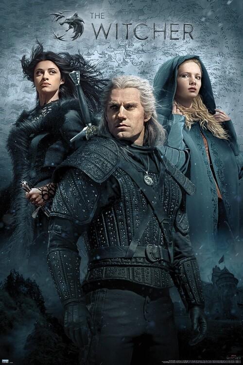 Plakát Zaklínač (The Witcher) - Key Art