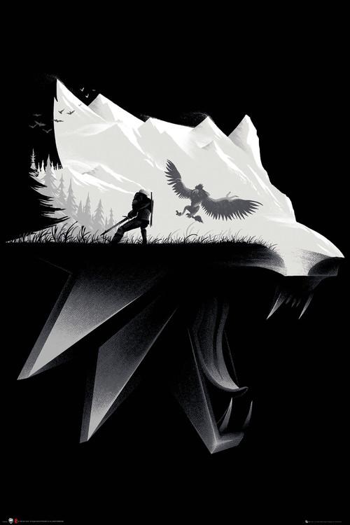Plakát Zaklínač (The Witcher) - Open World