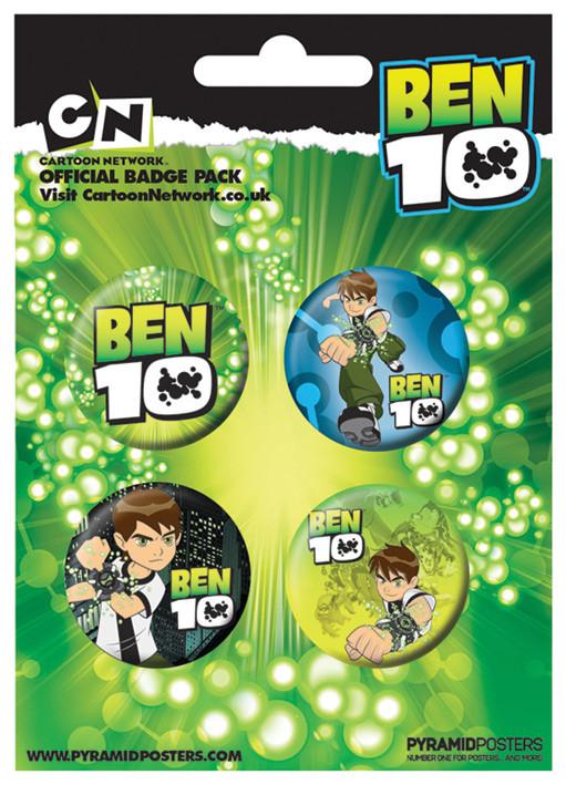 Plakietki zestaw Ben 10