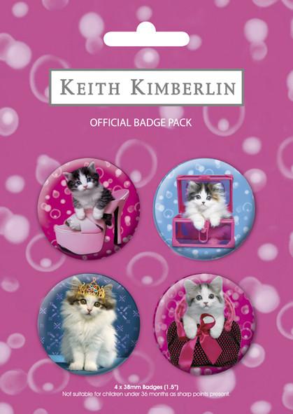 Plakietki zestaw CATS