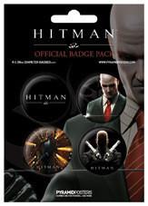 Plakietki zestaw HITMAN