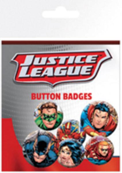 Plakietki zestaw Justice League - Group