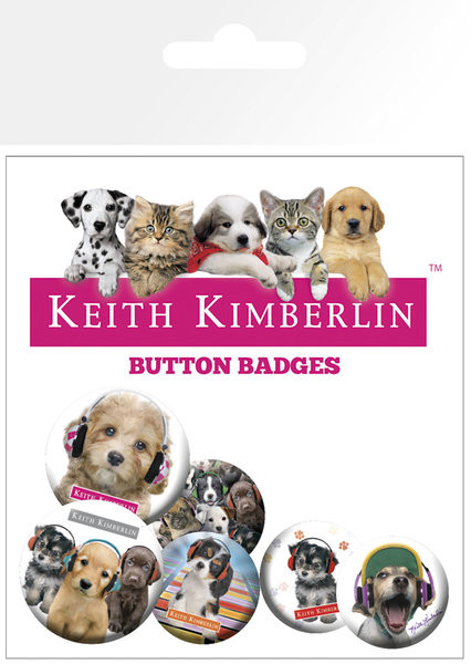 Plakietki zestaw KEITH KIMBERLIN