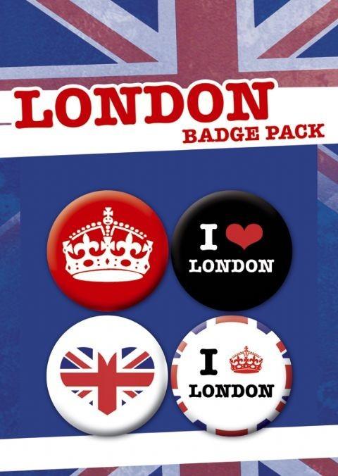 Plakietki zestaw LONDON PACK 1