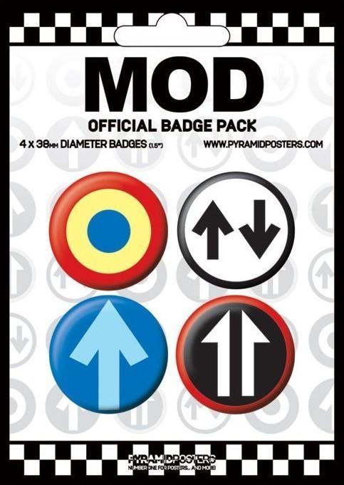 Plakietki zestaw MOD 2