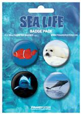 Plakietki zestaw SEA LIFE
