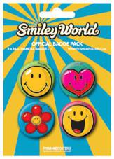 Plakietki zestaw SMILEY