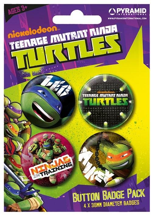 Plakietki zestaw TURTLES