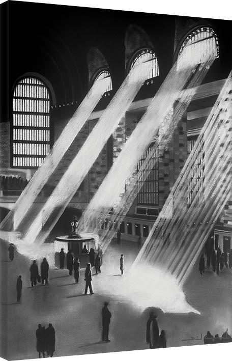 David Cowden - New York Central Slika na platnu