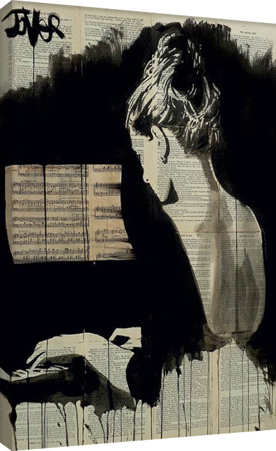Loui Jover - Her Sonata Platno