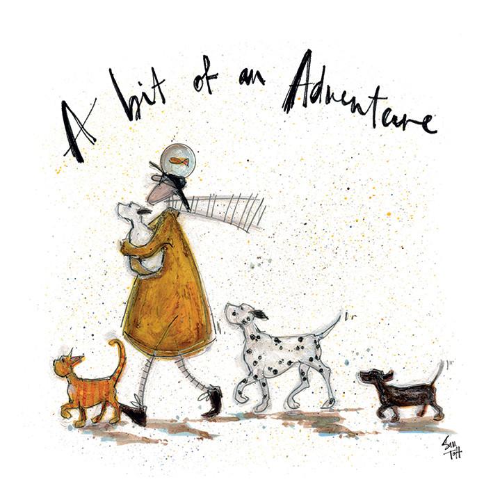 Sam Toft - A Bit of an Adventure Slika na platnu