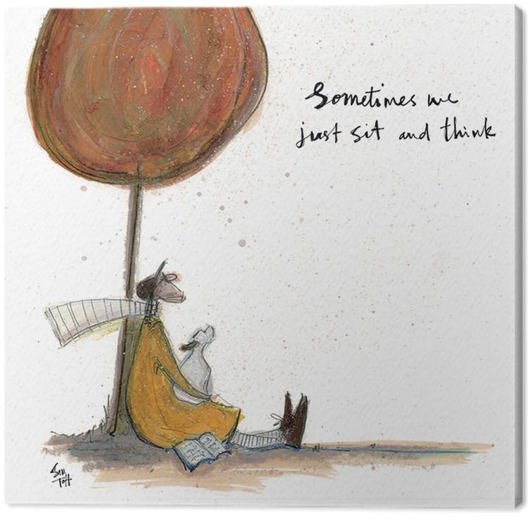 Sam Toft - Sometimes we Just Sit and Think Slika na platnu
