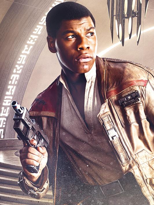 Star Wars The Last Jedi Finn Blaster Slika Na Platnu