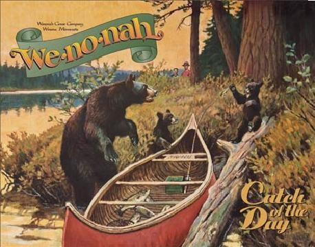 WE-NO-NAH - Catch Of The Day Plåtskyltar