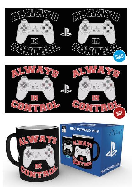 Taza Playstation - In Control